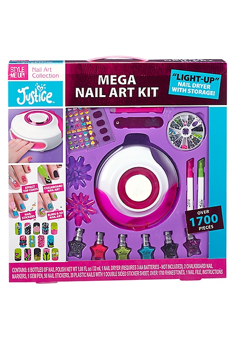 Mega Nail Art Kit | Justice