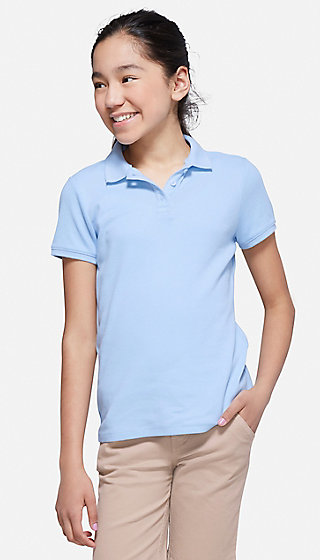 School Uniform Short Sleeve Polo