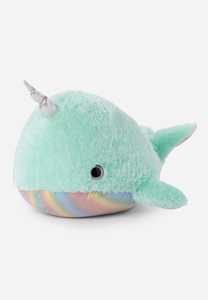 Jumbo Narwhal Plush Justice