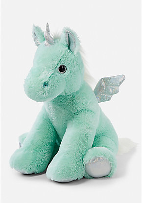 Mint Jumbo Unicorn Plush