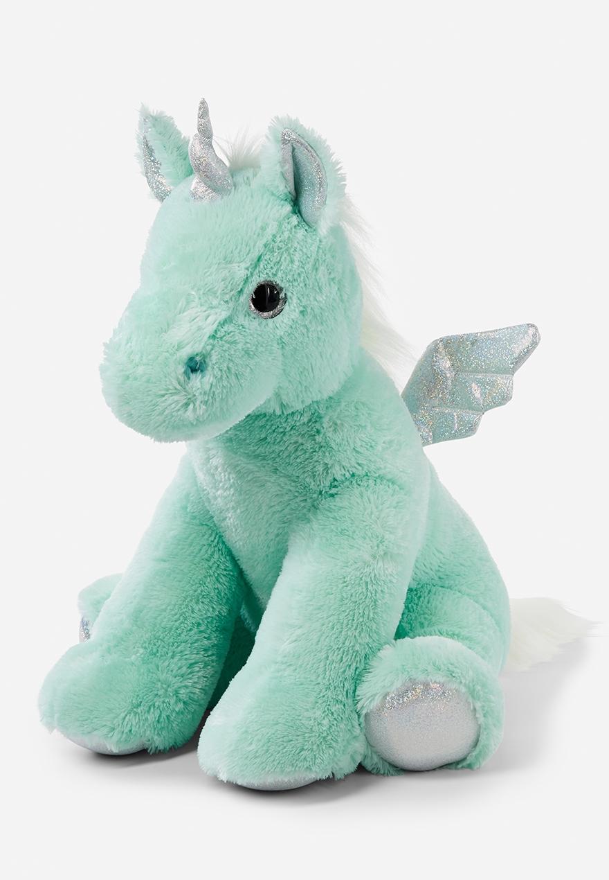 Mint Jumbo Unicorn Plush Justice