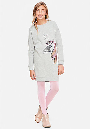 Unicorn Sweatshirt Dress