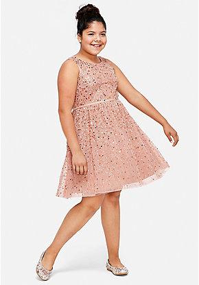 Tween Girls Plus Size Dresses Sizes 1012 24 Justice