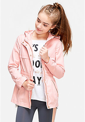 Rose Gold Military Jacket