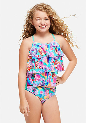 Sweet Treat Tiered Tankini