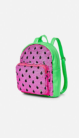 Watermelon Flip Sequin Mini Backpack Justice