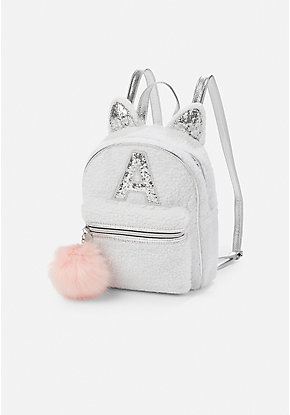 Sherpa Kitty Initial Mini Backpack