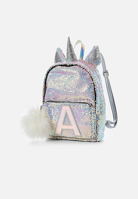 35efd1737b8e Initial Unicorn Flip Sequin Mini Backpack | Justice