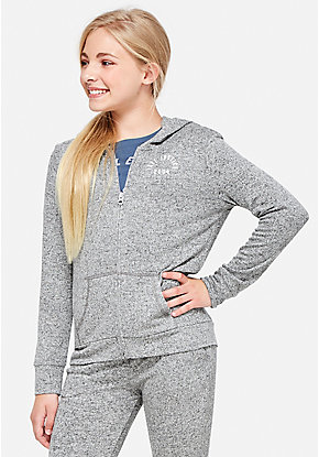 Snuggly Soft Zip Up Hoodie