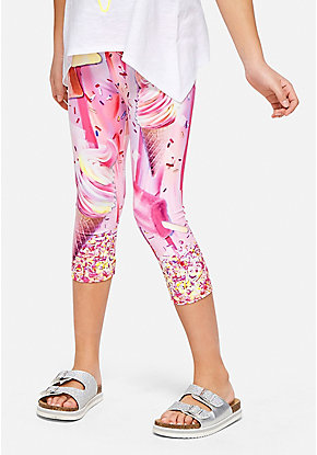 Get Happy Crop Leggings