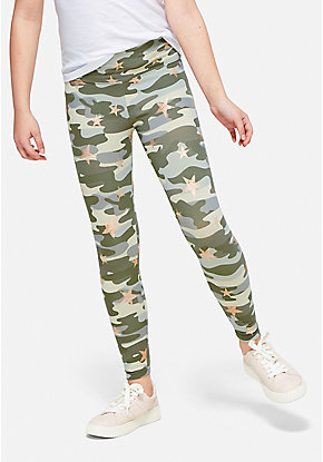 Camo Star Leggings