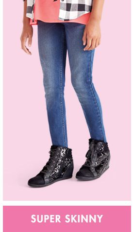 aa378030c347c Tween Girls' Jeggings & Denim Jeans - Skinny, Flare & More | Justice
