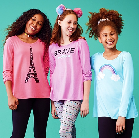 nav mktspot double clothes 1 girls' clothing & fashion for tweens justice,Childrens Clothing Justice