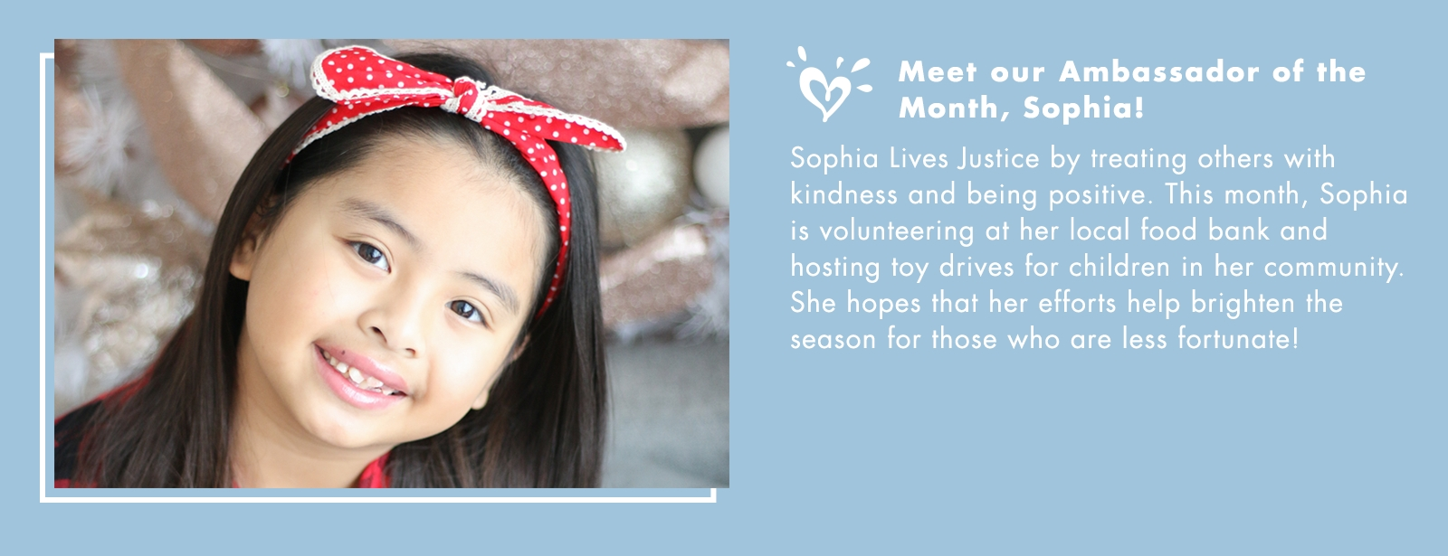 Meet our Ambassador of the Month