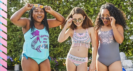 a570ba439 Tween Girls' Swimwear & Cute Bathing Suit Styles | Justice